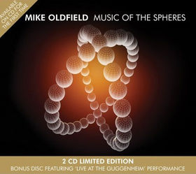 MIKE OLDFIELD - Music Of The Spheres CD album cover