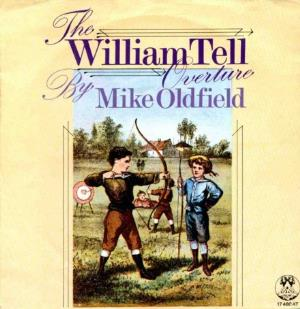 MIKE OLDFIELD - William Tell Overture CD album cover