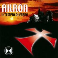 Akron - Il Tempio Di Ferro CD (album) cover