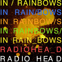 Radiohead - In Rainbows CD (album) cover