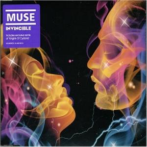 Muse - Invincible CD (album) cover