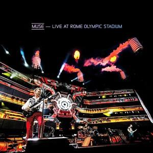 Muse - Live At Rome Olympic Stadium DVD (album) cover