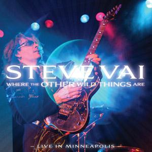 STEVE VAI - Where The Other Wild Things Are CD album cover