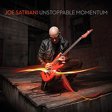 Joe Satriani - Unstoppable Momentum CD (album) cover