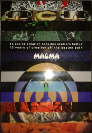 Magma - 45 Ans De Creation Hors Des Sentiers Battus CD (album) cover