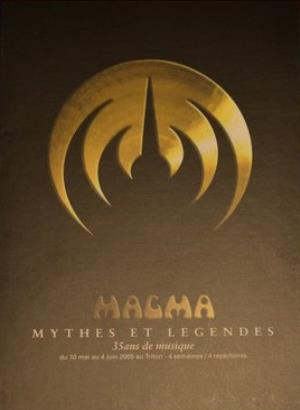 Magma - Mythes Et Legendes (box Set) CD (album) cover