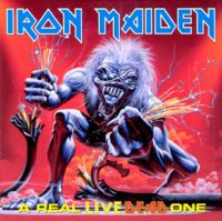 Iron Maiden - A Real Live Dead One CD (album) cover