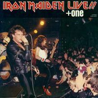 Iron Maiden - Live!! +one CD (album) cover