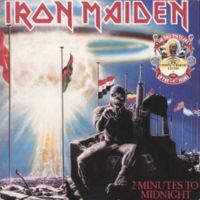 IRON MAIDEN - 2 Minutes To Midnight CD album cover