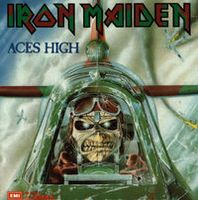 Iron Maiden - Aces High CD (album) cover