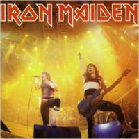 Iron Maiden - Running Free 1985 Live CD (album) cover