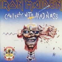 Iron Maiden - Can I Play With Madness CD (album) cover
