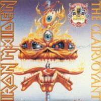 Iron Maiden - The Clairvoyant CD (album) cover