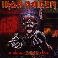 IRON MAIDEN - A Real Dead One CD album cover