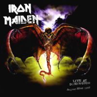 Iron Maiden - Live At Donington CD (album) cover