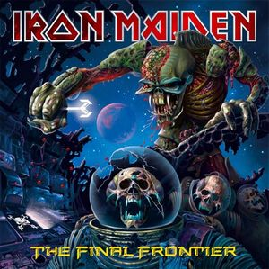 Iron Maiden - The Final Frontier CD (album) cover