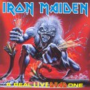 Iron Maiden - A Real Live One CD (album) cover