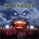 IRON MAIDEN - Live In Rio CD album cover