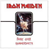 IRON MAIDEN - Beast Over Hammersmith CD album cover
