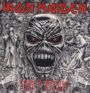 IRON MAIDEN - Eddie's Archive CD album cover