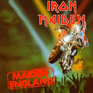 Iron Maiden - Maiden England CD (album) cover
