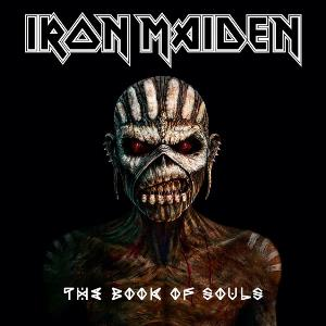 Iron Maiden - The Book Of Souls CD (album) cover