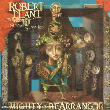 ROBERT PLANT - Mighty Rearranger CD album cover