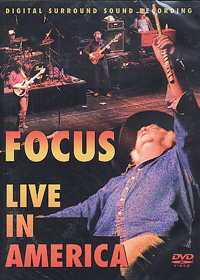 Focus - Live In America DVD (album) cover