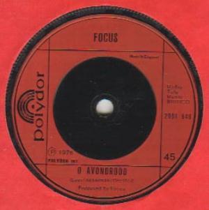 Focus - House Of The King / O Avondrood CD (album) cover