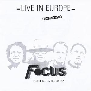 Focus - Live In Europe CD (album) cover