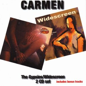 CARMEN - The Gypsies/widescreen CD album cover
