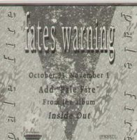 Fates Warning - Pale Fire CD (album) cover