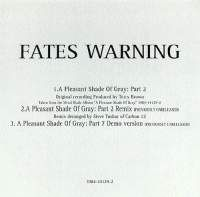 Fates Warning - A Pleasant Shade Of Gray: Part II CD (album) cover