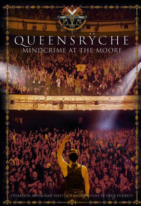 Queensryche - Mindcrime At The Moore  DVD (album) cover