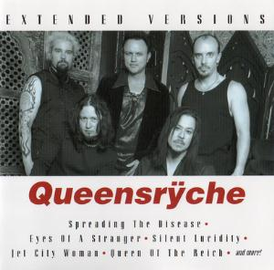 Queensryche - Extended Versions CD (album) cover