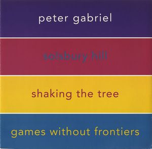 Peter Gabriel - Solsbury Hill CD (album) cover