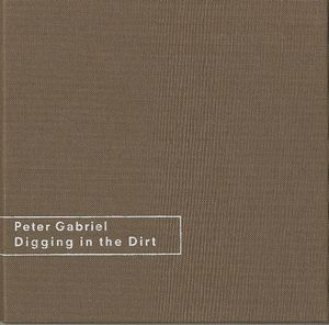 Peter Gabriel - Digging In The Dirt - Brown Linen Box CD (album) cover