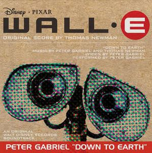 Peter Gabriel - Down To Earth CD (album) cover
