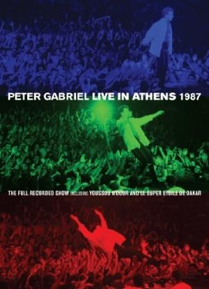 PETER GABRIEL - Live In Athens 1987 CD (album) cover