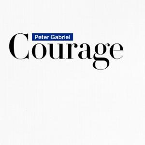 PETER GABRIEL - Courage CD album cover