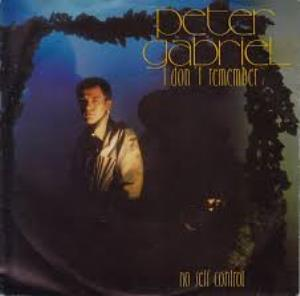 PETER GABRIEL - I Don't Remember CD album cover