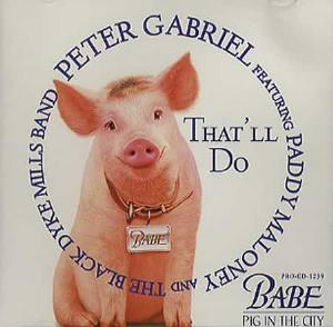 Peter Gabriel - That'll Do CD (album) cover