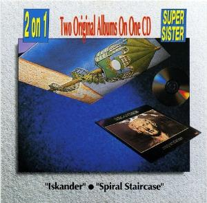 Supersister - Iskander / Spiral Staircase CD (album) cover