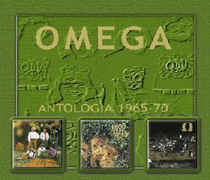 Omega (hr) - Omega Antol�gia 1965-1970 CD (album) cover