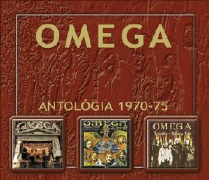 Omega (hr) - Omega Antológia 1970-1975 CD (album) cover