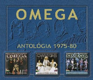 Omega (hr) - Omega Antol�gia 1975-1980 CD (album) cover