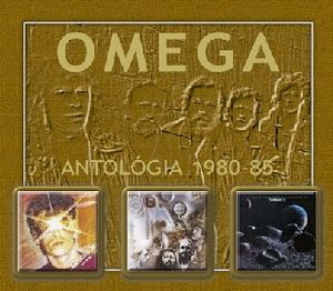 Omega (hr) - Omega Antológia 1980-1985 CD (album) cover