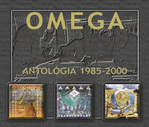 Omega (hr) - Omega Antológia 1985-2000 CD (album) cover