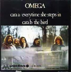 Omega (hr) - Everytime She Steps In CD (album) cover