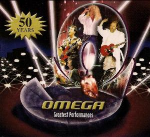 Omega (hr) - Greatest Performances - 50 Years CD (album) cover